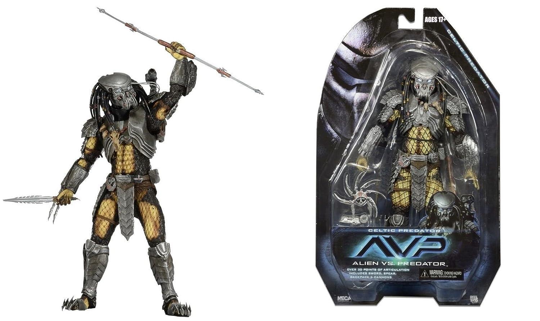 ALIEN vs. PREDATOR Actionfigur CELTIC PREDATOR, ca. 20cm - basierend auf dem Film (2004) Neca Film & Fernsehen