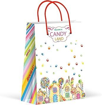 Amazon.com: Bolsas de fiesta Premium Candyland, bolsas de ...
