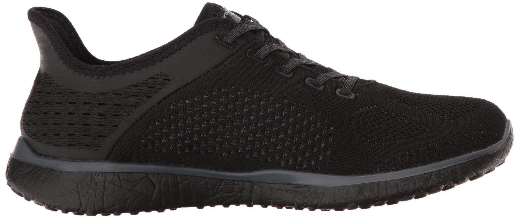 Skechers Microburst Supersonic 23327 Black BBK Sneaker Memory Foam