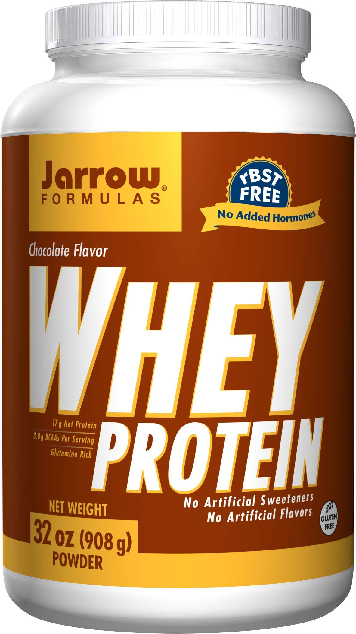 Jarrow Formulas Whey Protein, Supports Muscle Development, Chocolate, 32 Oz by Jarrow Formulas