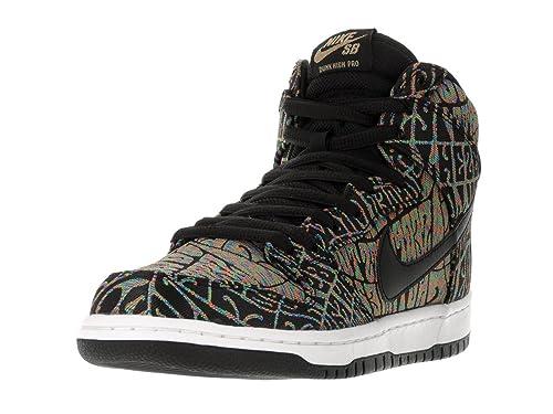 Nike SkateboardingDunk High Premium Tripper Pack - Sandalias con cuña Hombre, Color Negro, Talla 44: Amazon.es: Zapatos y complementos