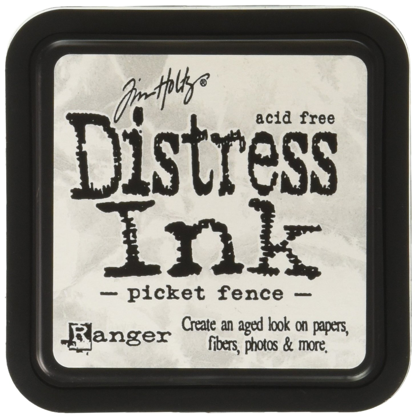 Ranger Distress Ink Pad-Picket Fence, Notions Marketing TIM40781