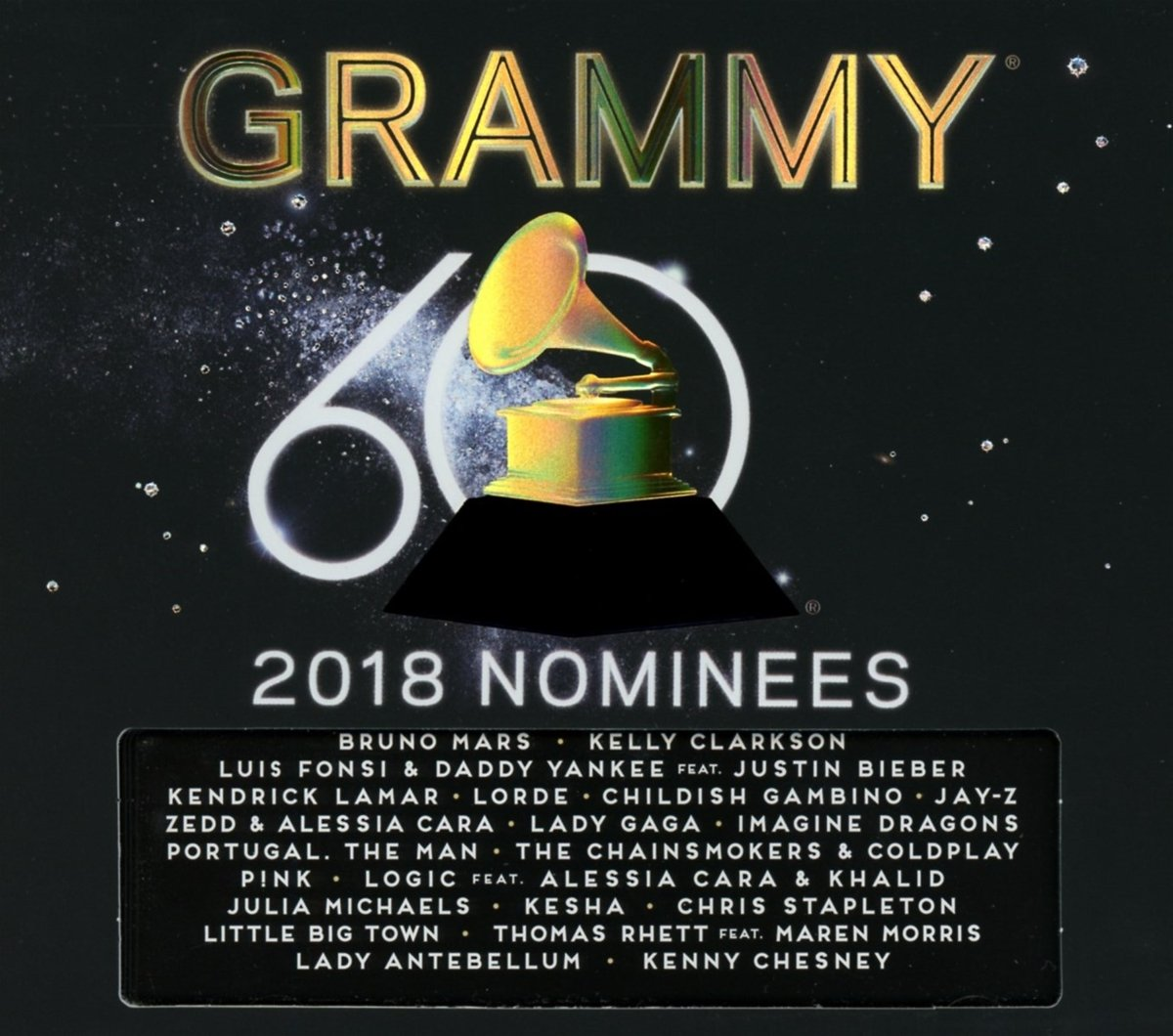 Book Cover: 2018 GRAMMY Nominees