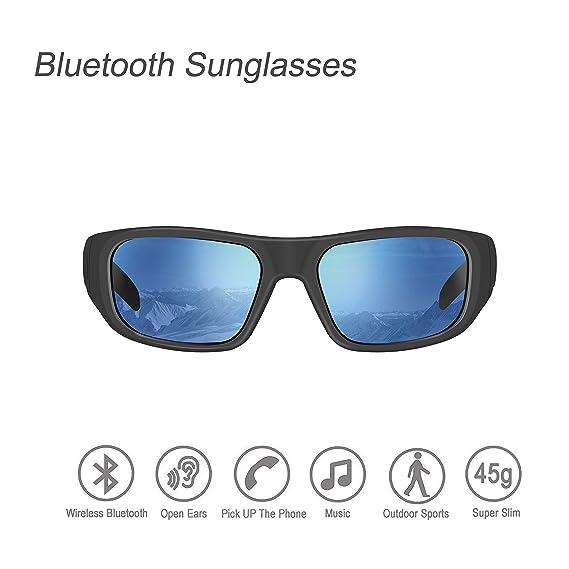 817b700958fa Amazon.com  Bluetooth Sunglasses