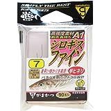 がまかつ(Gamakatsu) シングルフック ザ・ボックス A1 シロギスファイン 7号 90本 茶 67776