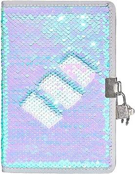 Iridescent Flip Sequin Hard Top Pencil//Travel Case plus FREE GIFT