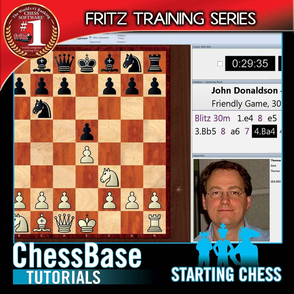 Amazon com: Chessbase Tutorials: STARTING CHESS (Fritz
