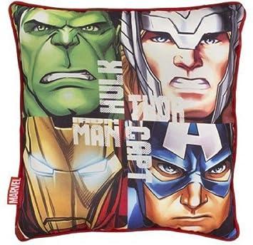 Avengers Team Peluche Cojín de Marcel Comics Hulk Thor ...
