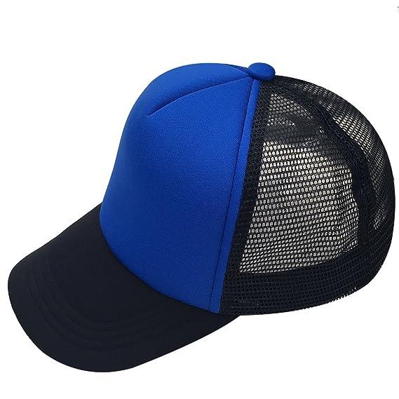 2720f4c9dc82 oriental spring - Gorra de béisbol - para Hombre Azul Black/Blue/Black 2 Talla  única: Amazon.es: Ropa y accesorios