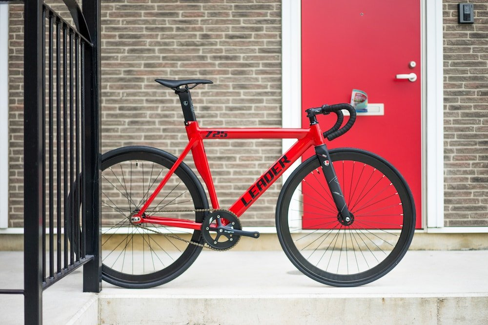 LEADER BIKES リーダーバイク 725TR 2017 Complete Bike コンプリートバイク 完成車 B01M9ED6LM XL 180cm~|レッド(RED) レッド(RED) XL 180cm~