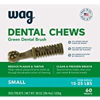 WAG Dental Dog Treats to Help Clean Teeth & Freshen Breath