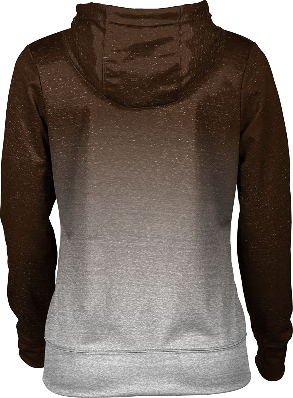 School Spirit Sweatshirt ProSphere Brown University Girls Zipper Hoodie Gradient