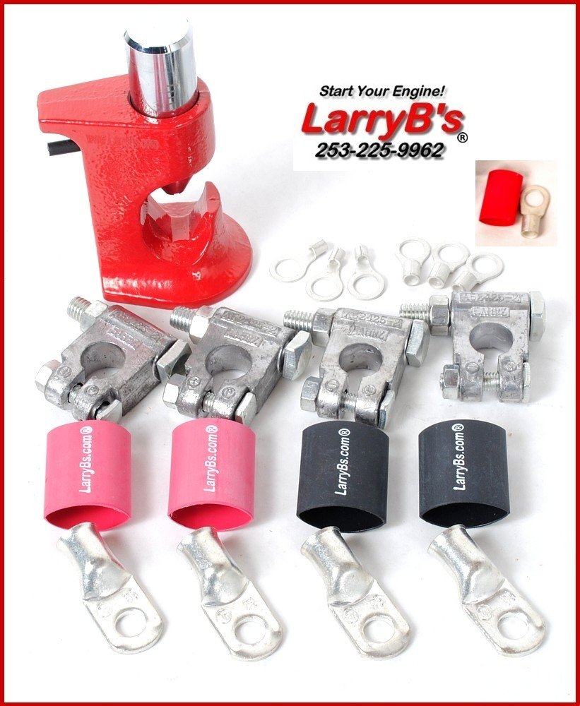 LarryB's BCRK Battery Cable Repair Kit for Dodge Cummins 1994-2009 by LarryB's