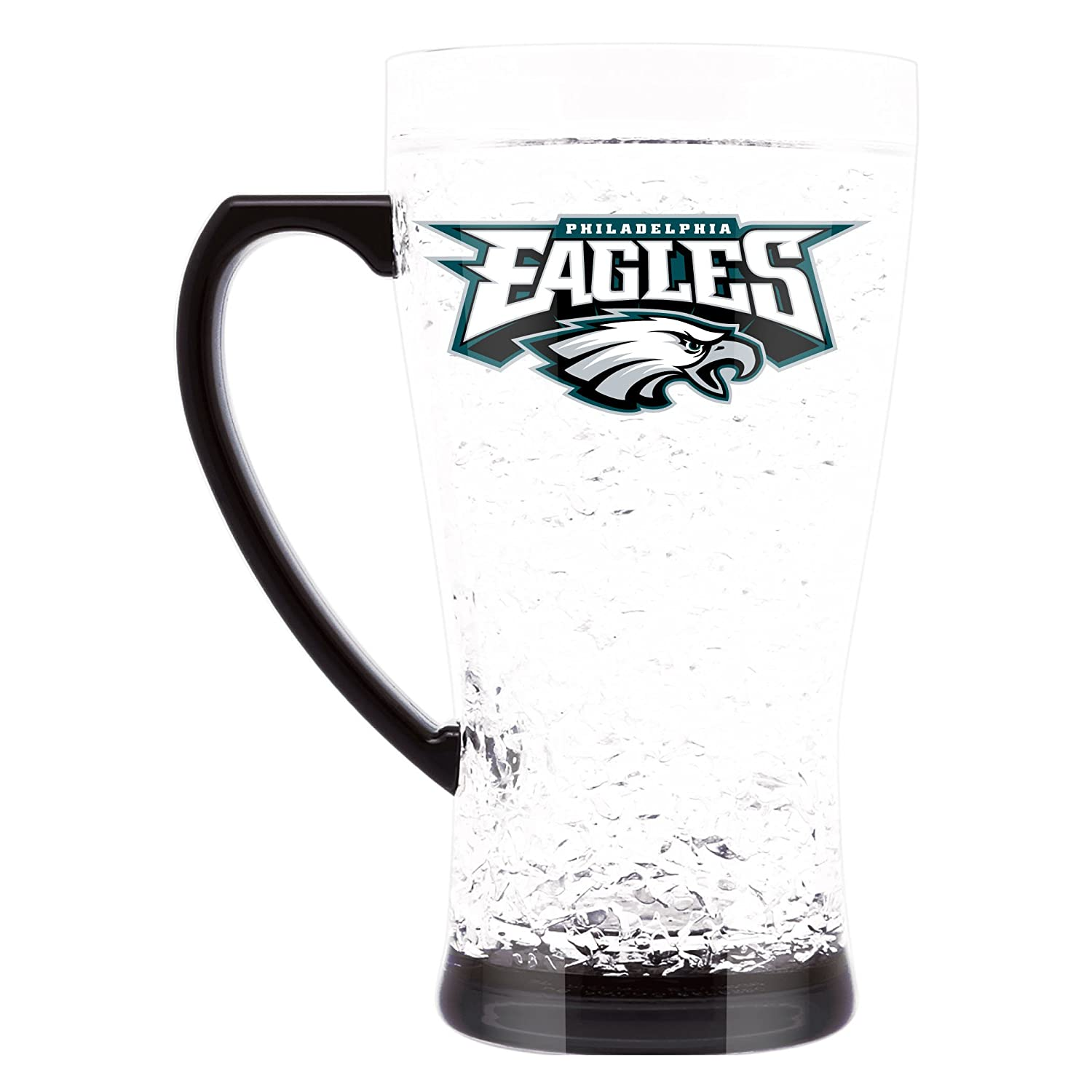 NFL Philadelphia Eagles 16oz Crystal Freezer Flared Mug
