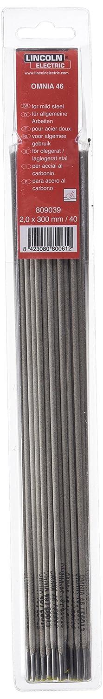 Lincoln 546A2 - Electrodo Rut Omnia 46 2,0Mm Bl 40: Amazon.es: Bricolaje y herramientas