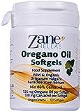 Zane Hellas Acéite de Orégano Perlas. Concentrado 4:1 Contiene 108 mg de Carvacrol por Porción. 60 Perlas con Acéite Esencial Puro de Orégano y Acéite de Oliva Extra Virgen Orgánico.
