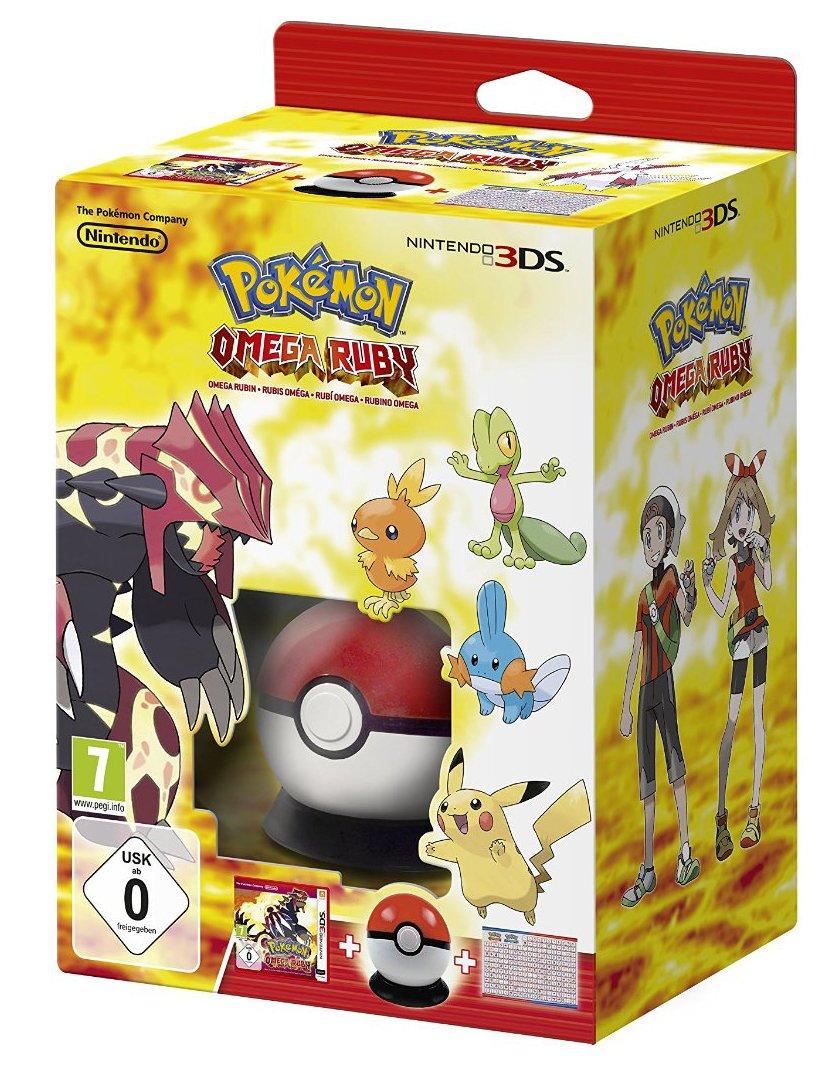 Pokémon Omega Rubin Inkl Pokéball Cardcase Pokédex Poster