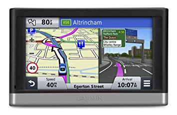 Garmin Nuvi Lt  Inch Satellite Navigation With Uk And Full Europe And North America Maps
