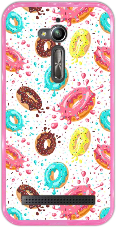 Hapdey Funda Rosa para [ ASUS Zenfone Go ZB500KL ] diseño [ Donuts ...