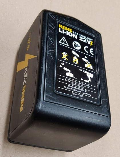 REMS Prensadora Bater/ía Prensa ACC Nr 571014 3 Tenazas Para Prensar M o V