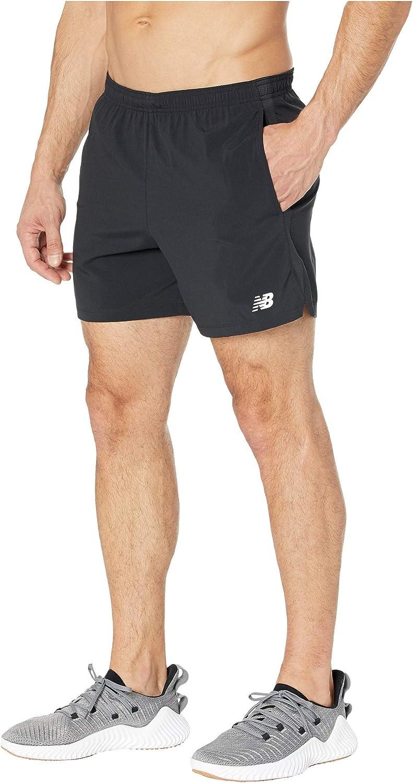 Amazon.com: New Balance Men's Accelerate 5 Inch Short: Clothing