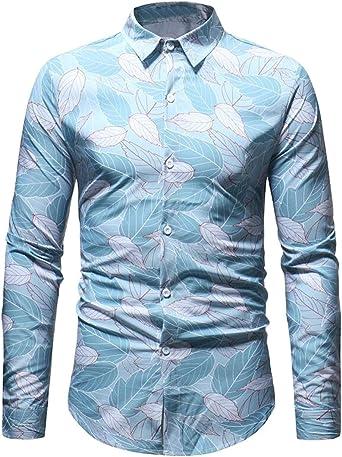 FSSE Mens Cotton Casual Business Button Up Long Sleeve Regular Fit Dress Shirts