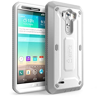 new product 0f231 d836e LG G3 Case, SUPCASE [Heavy Duty] LG G3 Case [Unicorn Beetle PRO Series]  Full-body Rugged Hybrid Protective Case with Built-in Screen Protector ...