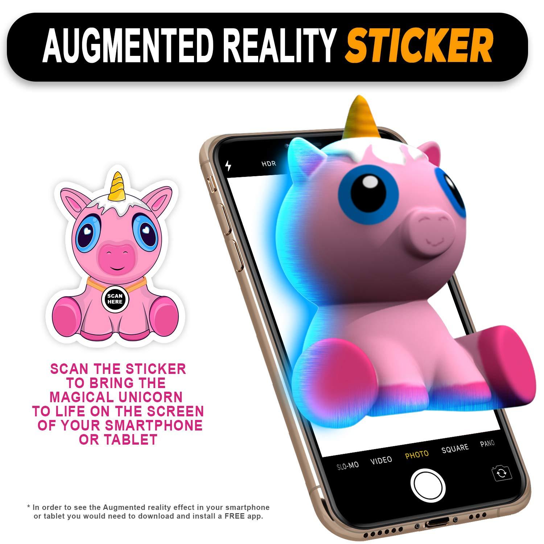 Amazon com: Cute Pink Unicorn Squishy with AR Squishy