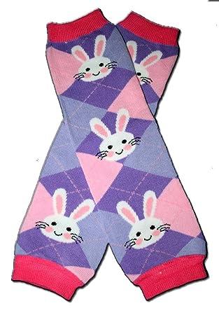 Amazon.com: Rosa y Púrpura Triple Happy Easter Bunnies ...