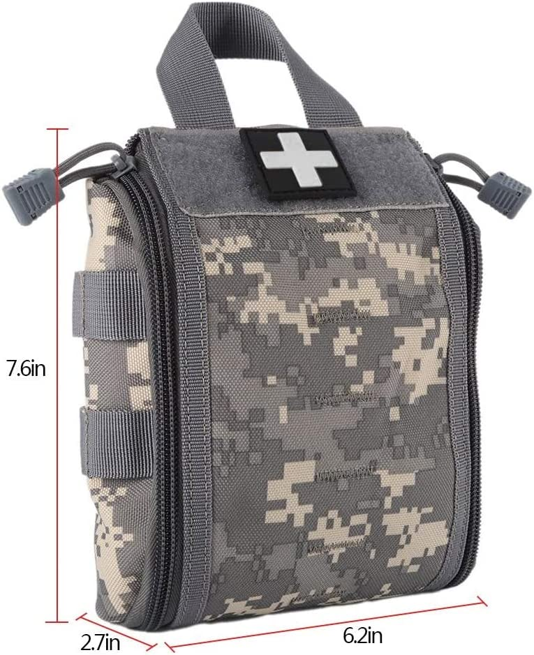 Waterproof First Aid Pouch Hunting Military Molle Nylon EDC Bag Medical