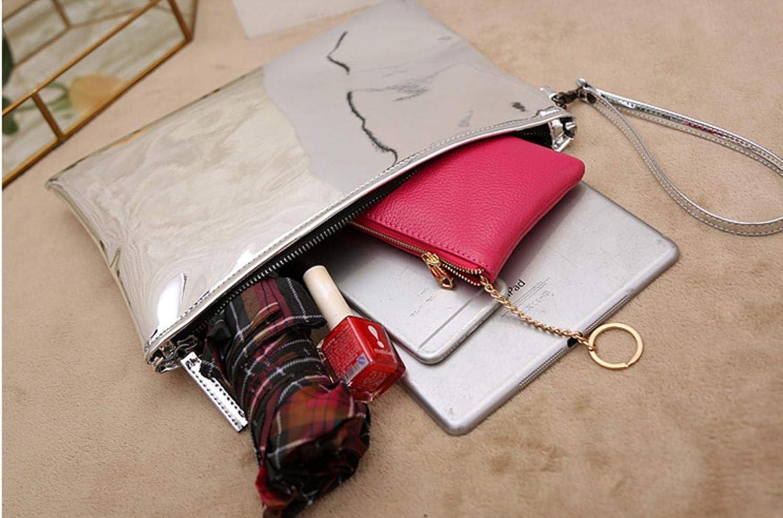 ABO Donne Busta Pochette partito splendente signora Clutches PU Pelle Femminile Polso pochette borse da sera Pochette Oro Rosa