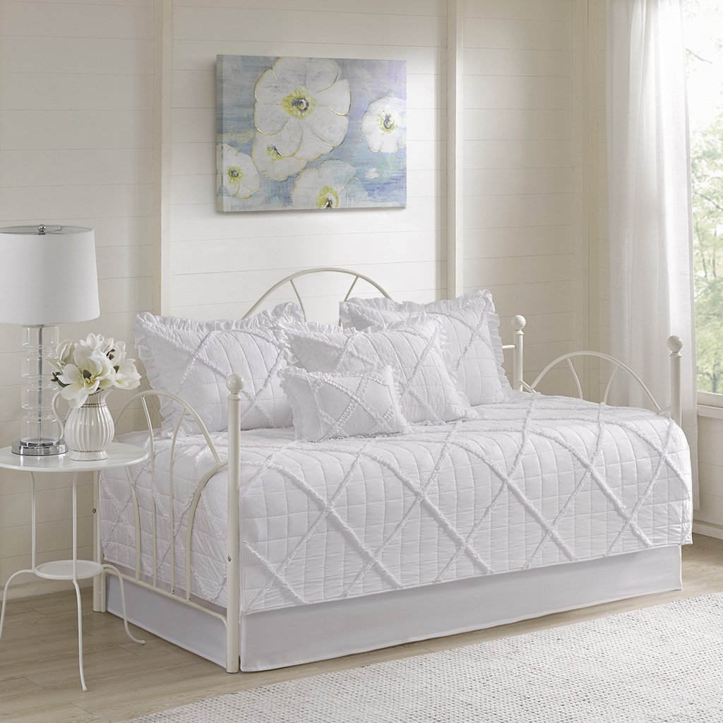 Madison Park Rosie Daybed Set, White by Madison Park (Image #2)