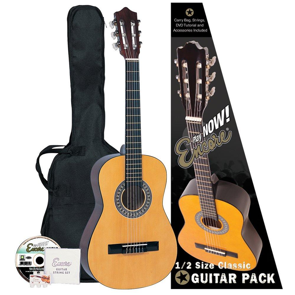 Encore ENC12OFT - Guitarra clásica (abeto laminado), color natural: Amazon.es: Instrumentos musicales