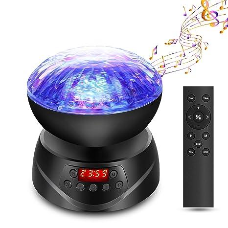 Lámpara Proyector Océano, Delicacy Proyector de Luces Nocturnas ...
