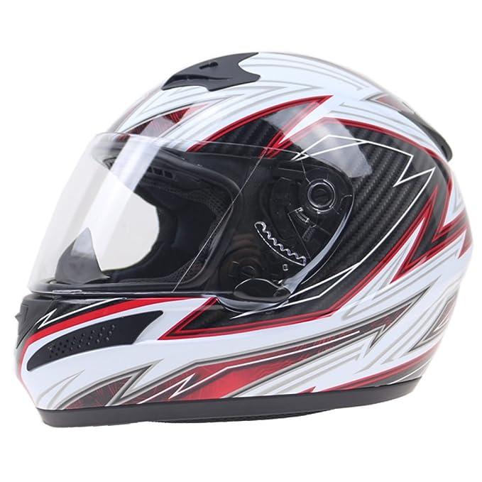 TZQ Lente De Bloqueo De Bloqueo Antirrobo Motocicleta Damas Anti-resplandor Slowdown Lucha Hat Hombres Sunscreen Luz Cascos,OneColor-OneSize: Amazon.es: ...