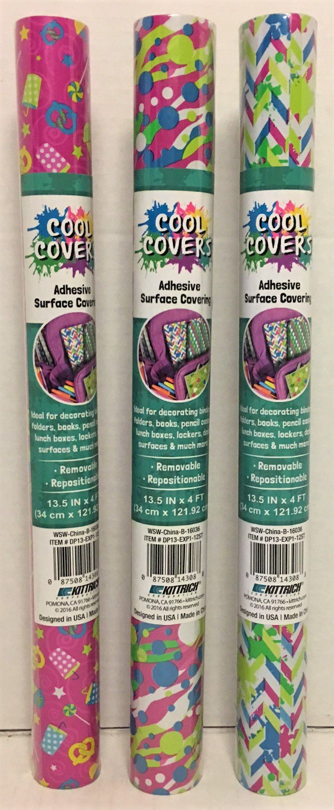 Kittrich Cool Covers Adhesive Surface Covering (Patterns Vary)