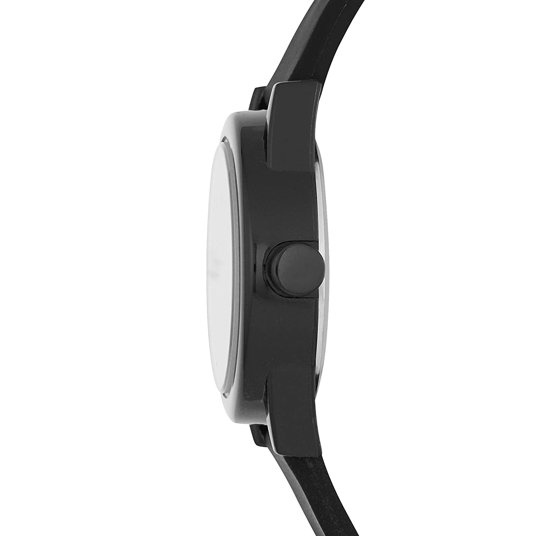 Amazon.com: Skechers Womens Rosencrans Mini Quartz Plastic and Silicone Casual Watch Color: Black (Model: SR6028): Watches