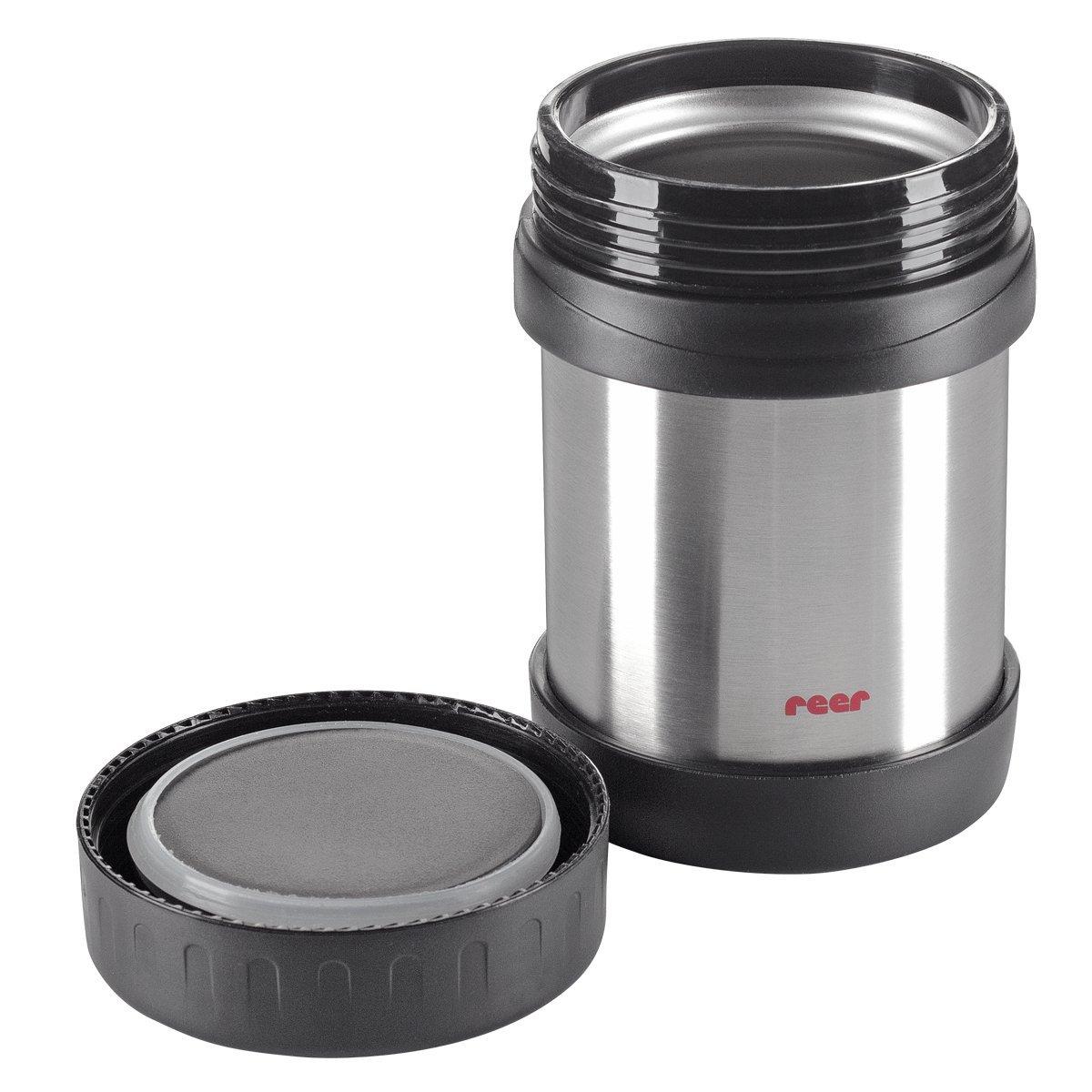 Reer 90400 - Edelstahl - Warmhaltebox für Nahrung, 350 ml
