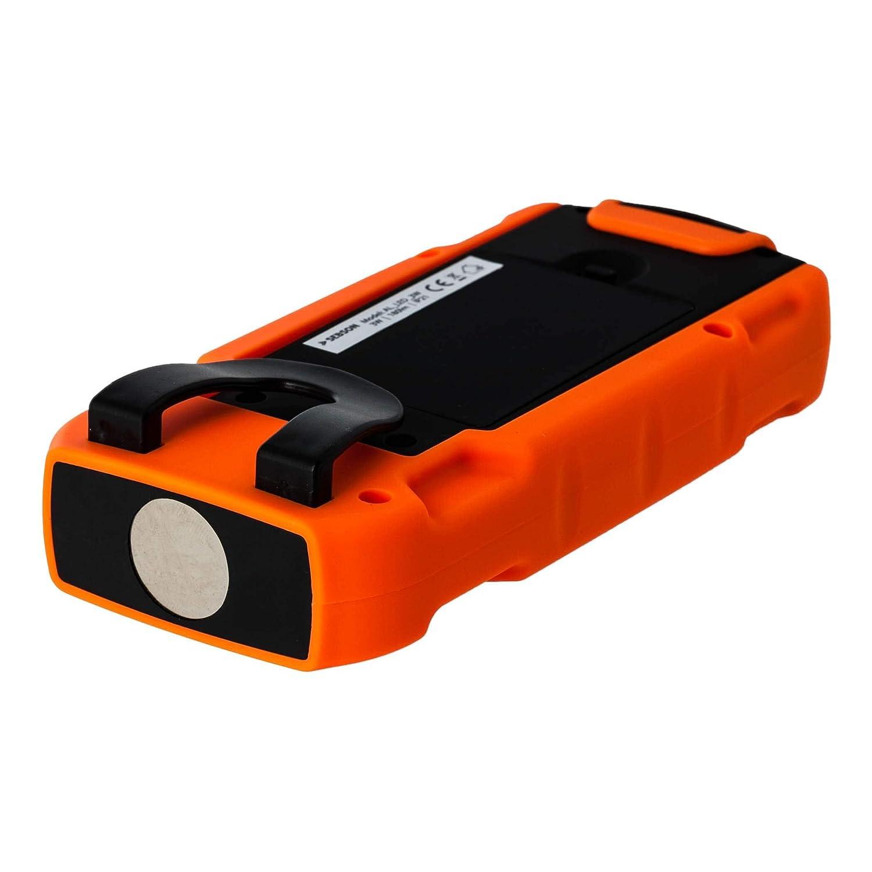 Magnetica Linterna Tactica Luz de Trabajo regulable SEBSON/® Lampara Portatil LED