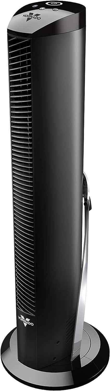 "Vornado OSCR32 32"" Oscillating Air Circulator Tower Fan with Remote Control, Timer, Black"