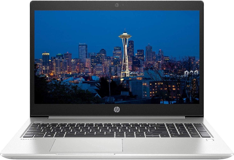 """2019 HP ProBook 450 G6 15.6"""" FHD Full HD (1920x1080) Business Laptop (Intel Quad-Core i7-8565U, 8GB DDR4, 1TB HDD) USB Type-C, WiFi, Backlit Keys, RJ45, HDMI, Windows 10 Pro Professional 64-bit"""