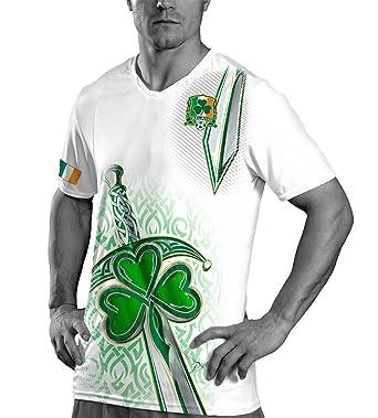 DA Sports Gear Ireland World Cup Soccer Jersey – Irish St Patrick s Day  Shirt 3962f9d3b