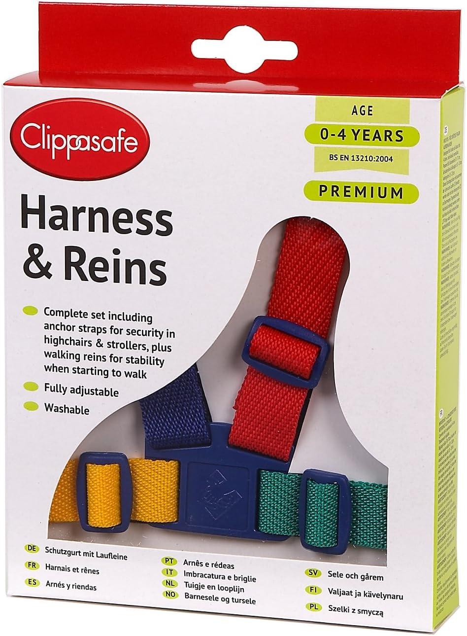Arnés Clippasafe de fácil lavado (multicolor): Amazon.es: Bebé
