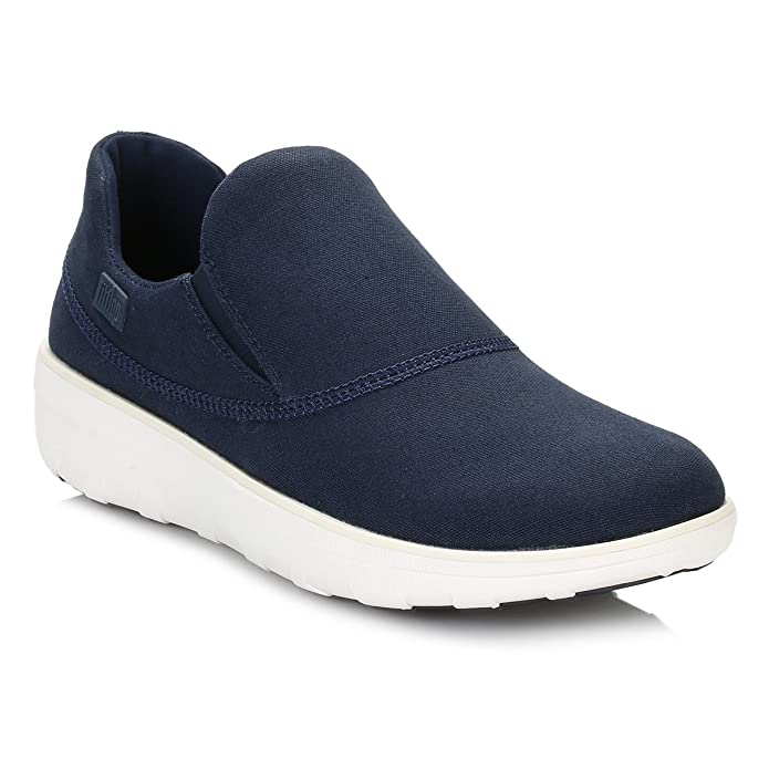 c86cceb6eeb FitFlop Loaff Sporty Slip-On Sneakers Supernavy UK8 Supernavy   Amazon.co.uk  Shoes   Bags
