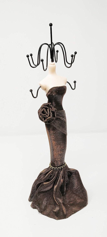 Schaufensterpuppe Schminktisch JRose Collection Schmuckst/änder f/ür Halskette Dekorativer Aufh/änger Ringe Schmuckaufbewahrung Organizer Ohrringe