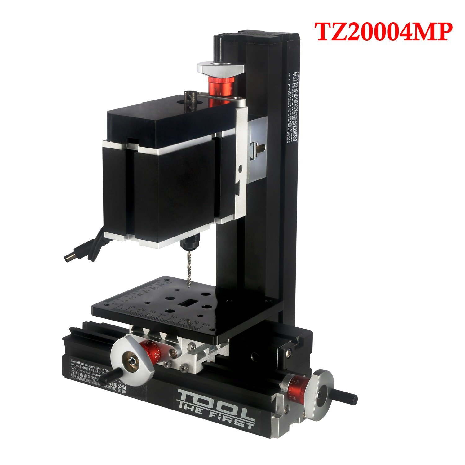 Metal Working Lathe DIY Woodworking Big Power 60W Electroplated Metal Drilling Machine For Hobby Model Wood Working