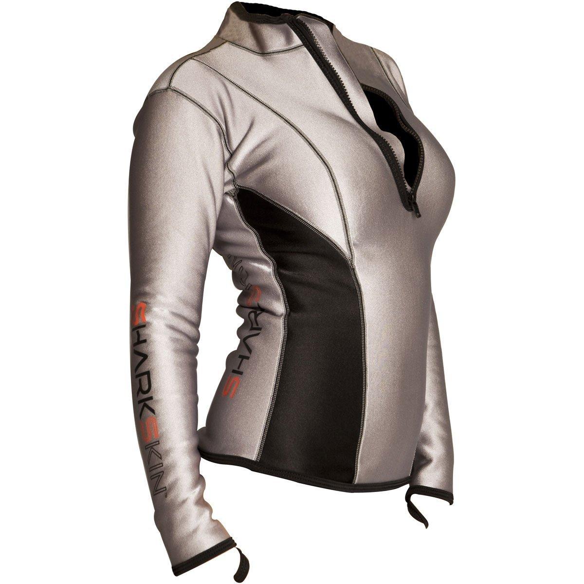 Sharkskin Women's Chillproof Climate Control Long Sleeve Shirt, Size 6