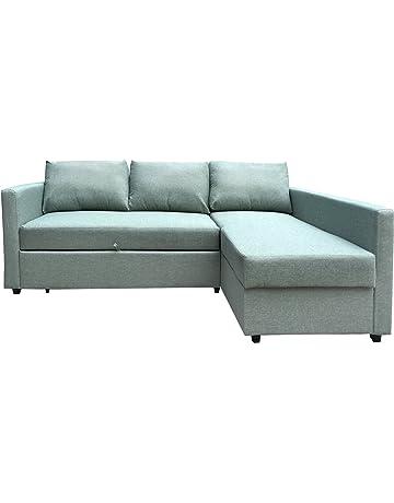 8a1ce30426401b Furniture 247 3-Sitzer L-förmige Schlafcouch