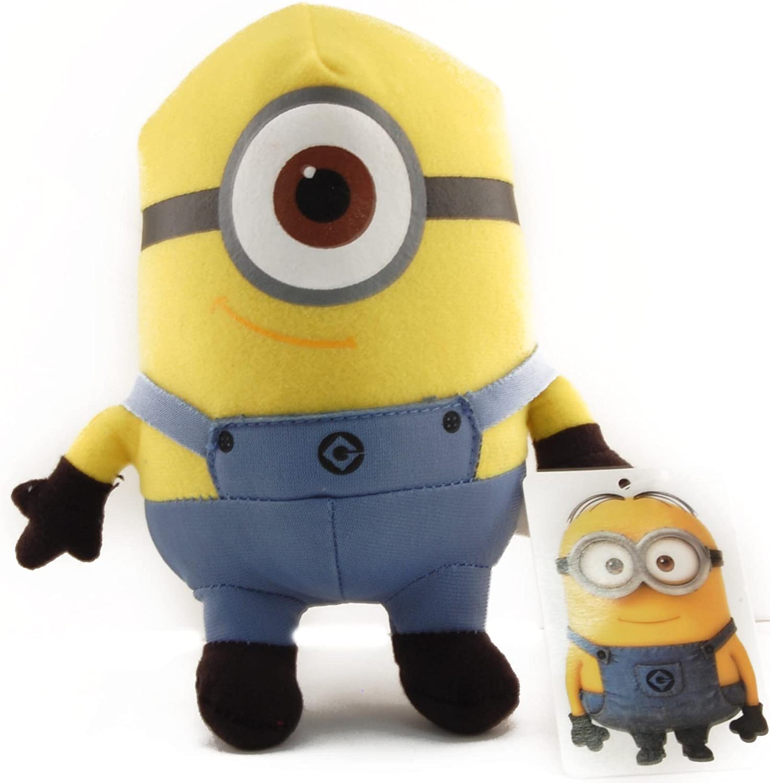 Amazon Com Toynk Despicable Me 6 Plush One Eyed Minion Stuart Toys Games