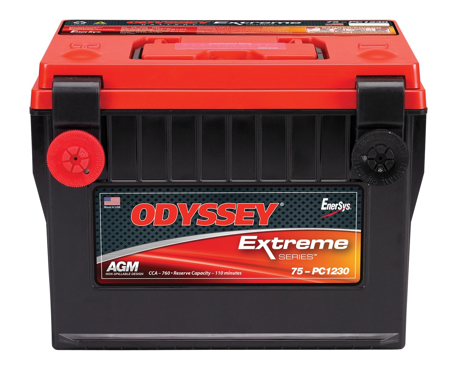 5. ODYSSEY 75-PC1230 Automotive Light Truck Battery